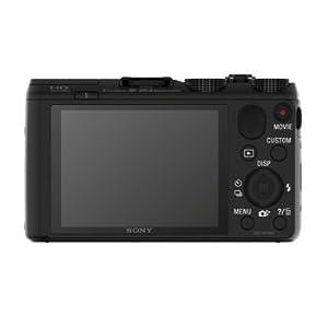 Sony DSC-HX50V/B DSC-HX50, HX50, DSCHX50 20.4MP Digital Camera with 3-Inch LCD Screen (Black) Bundle with 32GB Class 10 High Speed SD Card, SD Card Reader, Table top Tripod, Camera Case + More