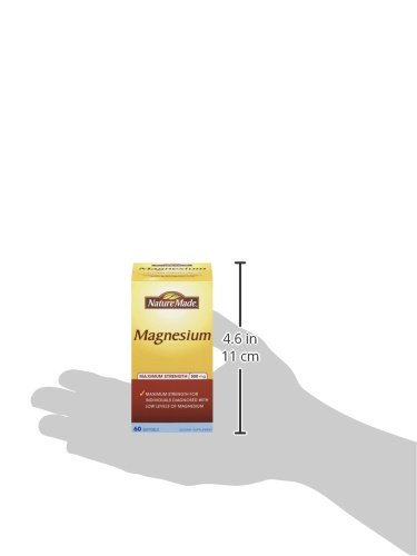 Nature Made Maximum Strength Magnesium 高浓度镁液体胶囊 500mg*60粒 $5.64图片