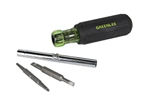 Greenlee 0353-41C Six-In-One Screw and Nut Driver