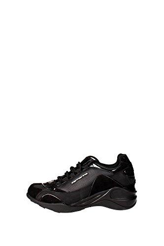 Fornarina PIFSE6432WVA0000 Sneakers Donna Pelle Sintetico Nero Nero 36