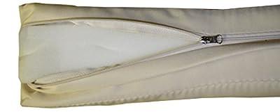 Hollywoodschaukel Comfort Schaukelauflage Kissen 3 Sitzer beige mit wasserabweisendem Polyesterstoff und abnehmbaren Bezug von beo auf Gartenmöbel von Du und Dein Garten