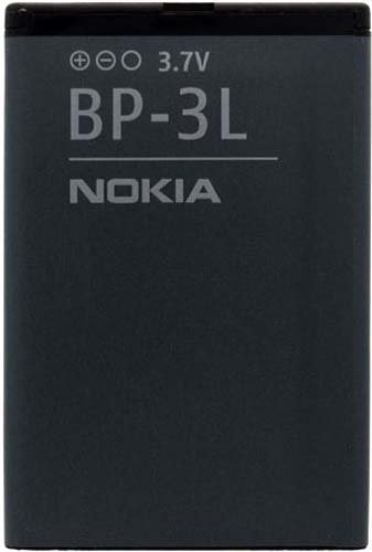 Nokia BP-3L BP3L Battery for Lumia 710 - Original OEM - Non-Retail Packaging - Black