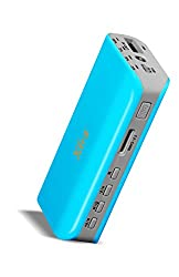 XTRA JAZZ 3000mAh Music Power Bank - 5 IN 1 Powerbank FM Player, MP3 Player, Torch, SD Card Reader, Lithium Polymer Battery