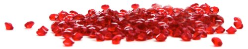 Dress My Cupcake Diamond Decor Bulk, 500-Piece, Red