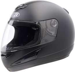 G-Max Gm38 Solid Helmet , Size: Xs, Primary Color: Black, Helmet Type: Full-Face Helmets, Helmet Category: Street, Distinct Name: Flat Black, Gender: Mens/Unisex 138073
