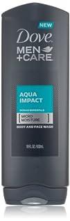 Dove MenCare Aqua Impact Body and Face Wash