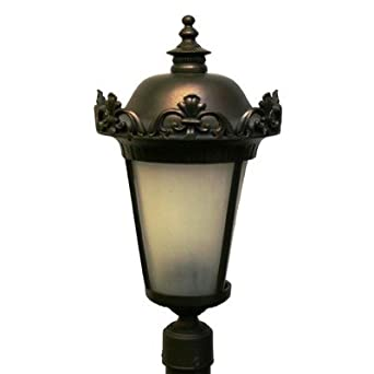"Parisian PE3900 Series 22.5"" Post Lantern Finish: White"