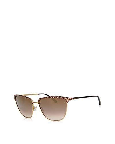 Jimmy Choo Gafas de Sol Laura/S Fil (57 mm) Oro / Leopardo / Negro