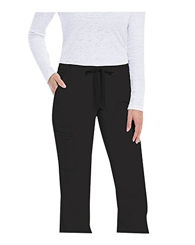 KD110 Women's Riley Cargo Scrub Pant X-Small Black