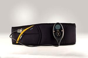 The Flex Belt Flex System Abdominal Toning Belt, Black