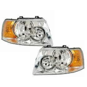 Ford Expedition Headlights OE Style Replacement Headlamps Driver/Passenger Pa...