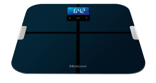 Medisana BS 440 - Báscula personal con función de análisis corporal y Bluetooth, color negro