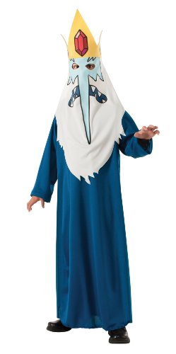 Rubies Adventure Time Child's Ice King Costume, X-Large