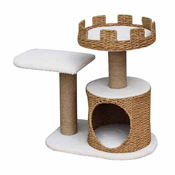 PetPal 3 Level Recycled Paper Made Cat Furniture, 31-Inch by 16-Inch by 27-Inch