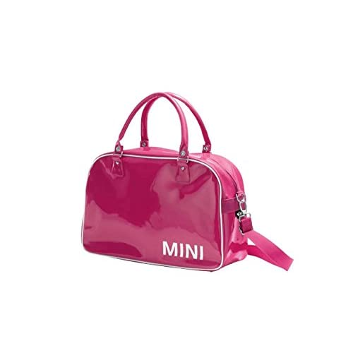 MINI Genuine MINI Fashion <strong>Bag< strong>   Shoulder Messenger Handbag in Berry 80222344532