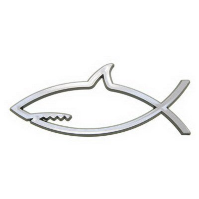 Shark Emblems Shark Fish Car Emblem