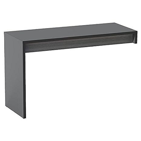 Modern Black Reversible Desk Panel FMP25426