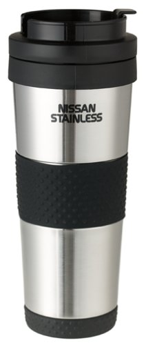 Thermos Nissan 18-Ounce Stainless-Steel Insulated Travel Tumbler