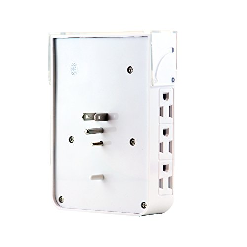 LB1 High Performance New 6 AC Outlets Power Surge Protector Wall Tap for Toshiba Satellite Notebook Computer A135-S4527 with 4 Fast Charging USB Ports, Night Light, iPhone Dock Charging Station coupon codes 2015