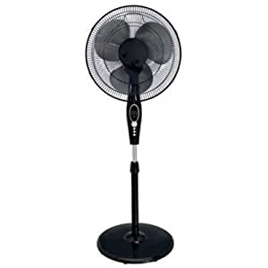 Hunter Fan Company 90391 Floor Fan 355.60 Mm Diameter 3 Speed Adjustable Dust Resistant