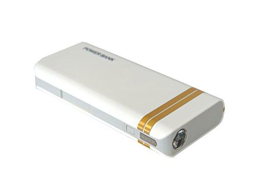 HORIC リチウムイオン モバイルバッテリー 10000mAh 1ポート出力 LEDライト付き IS-PB40G (ゴールド)
