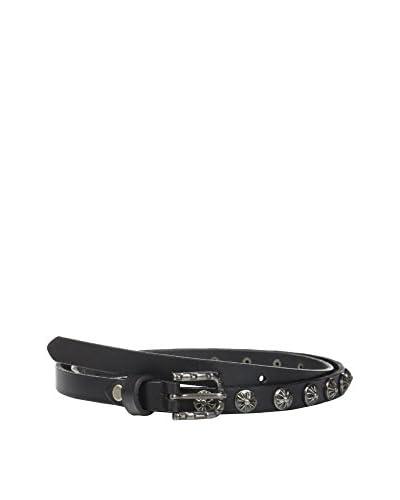 Cortefiel Cintura Pelle  [Nero]