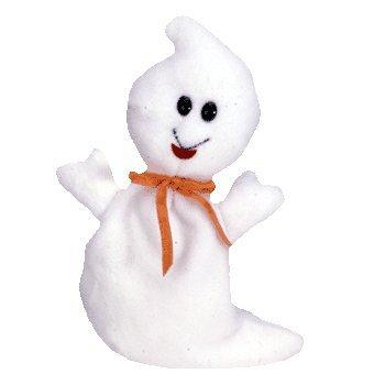 Ty Beanie Babies Spooky - Ghost - 1