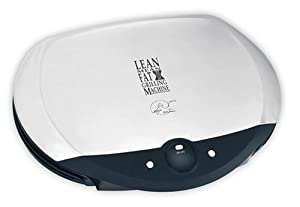 George Foreman GR35SBTMR Stainless Steel Grill With Timer
