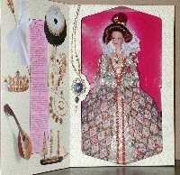 Elizabethan Queen The Great Era Collection by Mattel (English Manual)