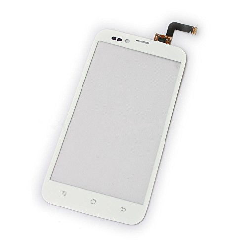 Topscreen2012(Tm) White Touch Screen Digitizer Glass Lens (No Lcd Screen Display Panel) Replacement Repair Part Fix For Blu Studio 5.0 S D570 D570A