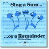 Sing a Sum...or a Remainder CD by Alan Stern
