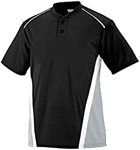 Buy Baseball Softball 3-Color Wicking Moisture Management Two-Button Placket RBI Jersey... by Augusta - Authentic Sports Shop