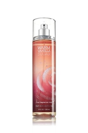 Bath and Body Works Fine Fragrance Mist Warm Vanilla Sugar 8.0 oz Body Coconut Vanilla Bath