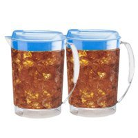 Mr. Coffee TP3 Iced Tea Pitcher, 3 Quart, 2 Pack