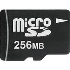 Speicherkarte microSD, SDHC, 256GB (inkl. Adapter, Klasse 10)