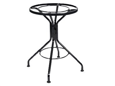 Woodard Contract Frames Wrought Iron Base Only Patio Dining Table