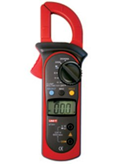"""Riorand® Rr201 1.5"""" Lcd Handheld Digital Clamp Multimeter (Voltage + Current + Resistance / 2*Aaa) front-389025"""