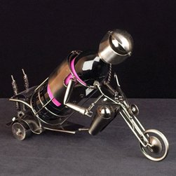 Motorbike Wine Bottle Holder-home Bar and Kitchen Gifts and
