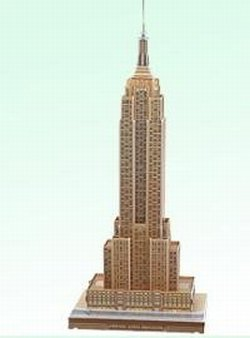 Cheap CALEBOU 3D Empire State Building New York City 3 D Puzzle Model Kit (B003O5KK26)