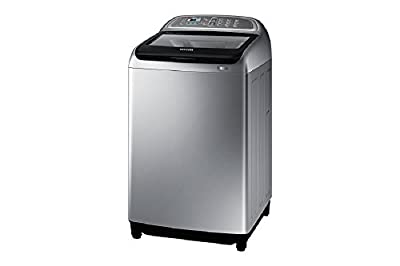 Samsung WA90J5730SS/TL Fully-automatic Top-loading Washing Machine (9 Kg, Silver)
