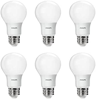 6-Pk 60W Equivalent A19 LED Light Bulb
