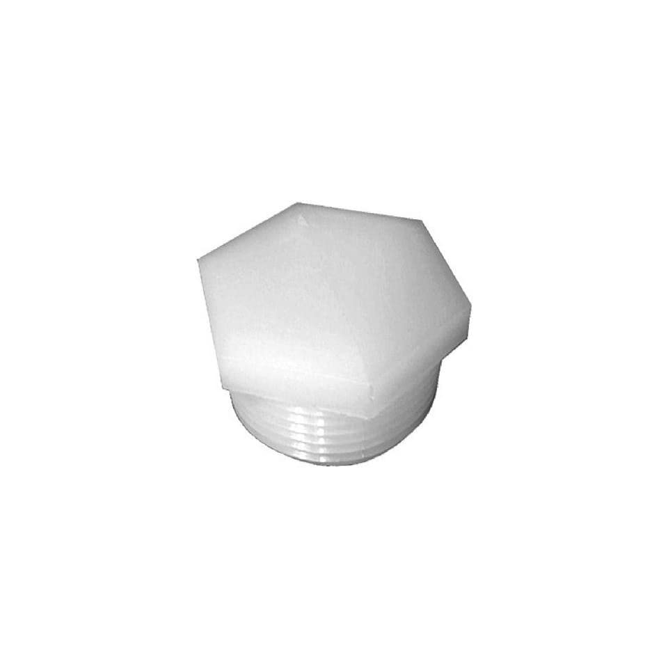 Anderson Metals #53621 12 3/4MPT Hex Pipe Plug