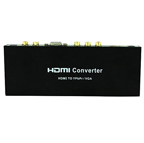 Best Price! Generic HDMI to VGA Ypbpr RGB Component Video Converter with Spdif R/l Audio Output Supp...