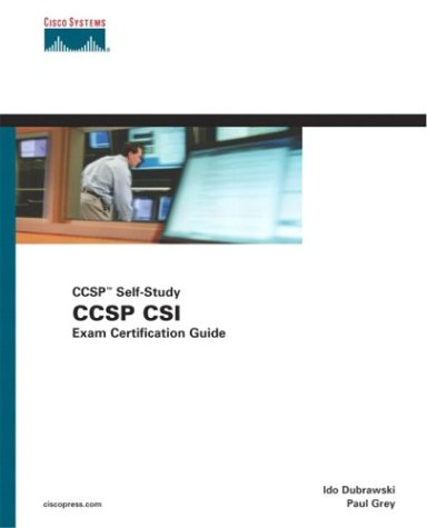 CCSP CSI Exam Certification Guide (CCSP Self-Study, 642-541)