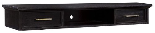 Dresser Hutch with Black Crystal Finish by Howard Miller - 951102BC