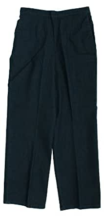 Alfred Dunner Bryce Canyon Flat Front Denim Pants 18 M