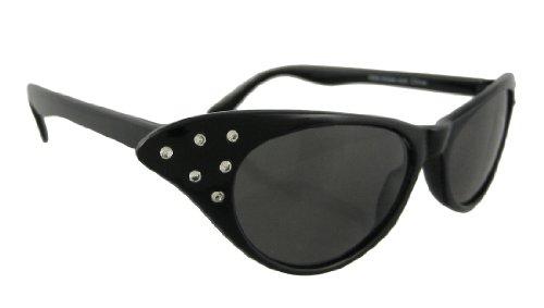 Elope 50s Rhinestone Costume Glasses