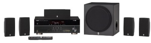 Yamaha YHT-495BL Complete 5.1-Channel Home Theater System
