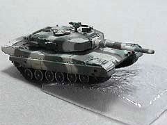 自衛隊 90式戦車 中戦車 稜線射撃姿勢 冬季迷彩