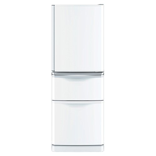 三菱 335L 3ドア冷蔵庫(パールホワイト)【右開き】MITSUBISHI MR-C34Z-W